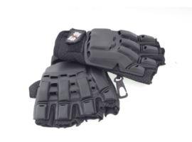 Buddha Half Finger Gloves L