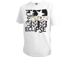 Eclipse Mens Grunge T-Shirt White