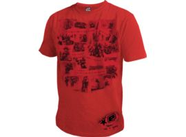 Eclipse Mens Sunday Club T-Shirt Red