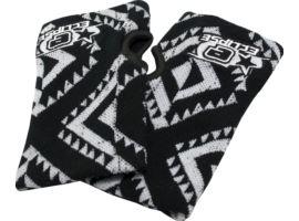 Eclipse Escher Wristbands White/Black