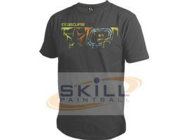 Eclipse Mens Drip T-Shirt Charcoal